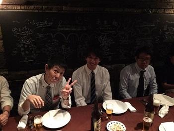 川端さん歓迎会