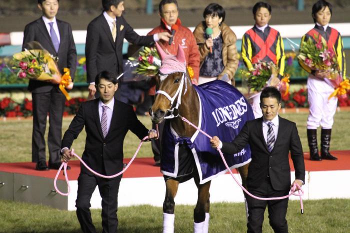 2014 ジェンティルドンナ有馬記念 引退式