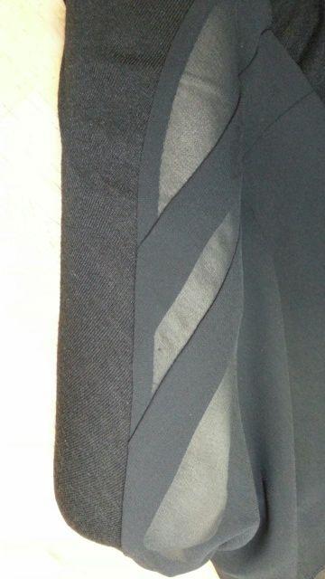 バルーンワンピース袖付け衿付け⑮
