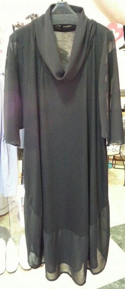 バルーンワンピース袖付け衿付け㉑