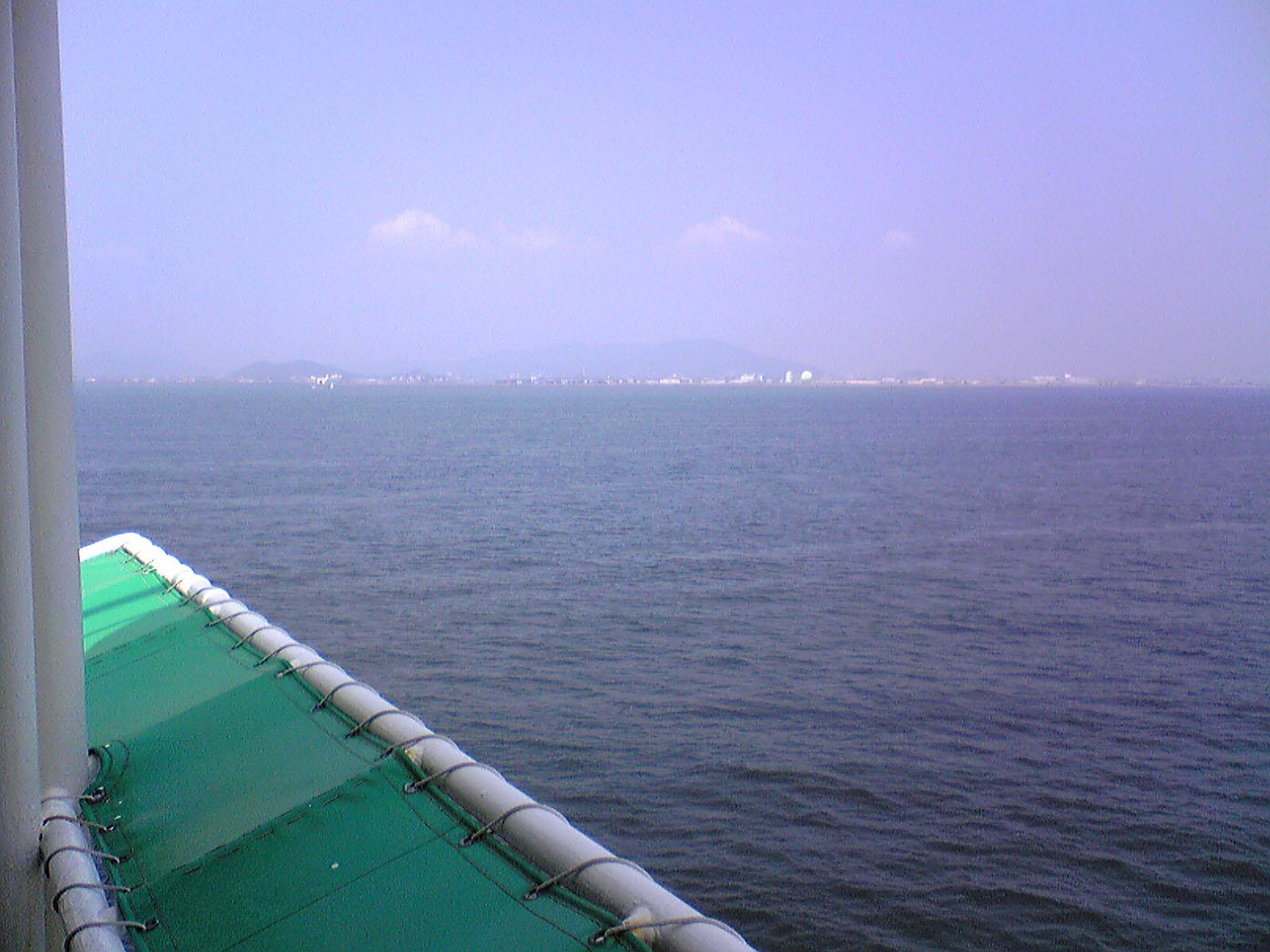 南海フェリー~かつらぎ徳島到着1