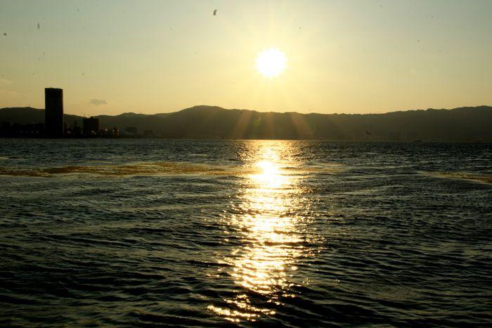 2016-8-6-1琵琶湖夕陽