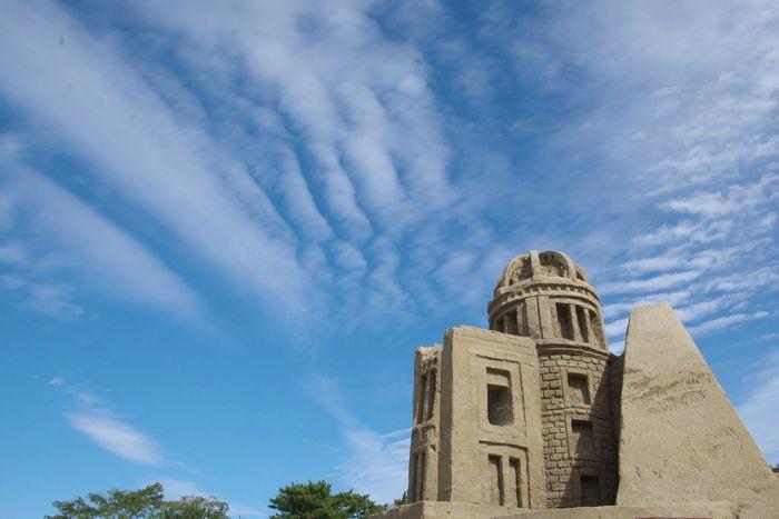 2016-11-2-1砂城と空