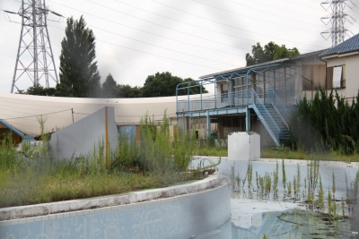 閉鎖された鳩ヶ谷市民プール2