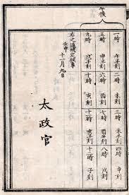 太政官改暦詔書
