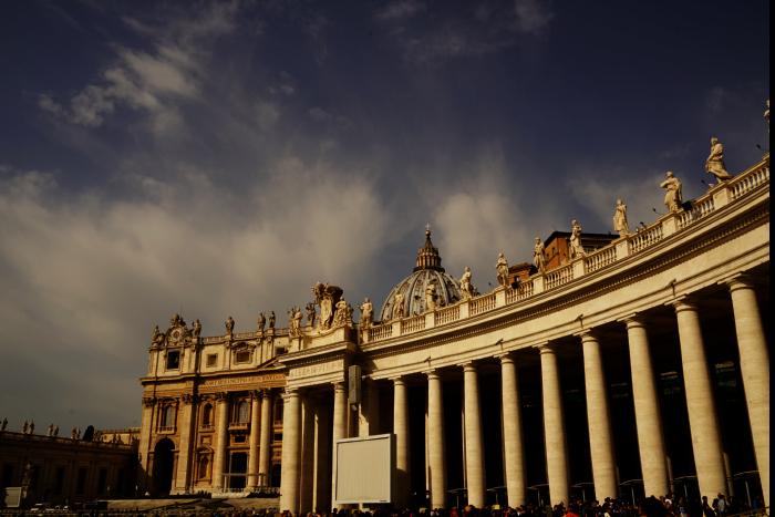 サンピエトロ大聖堂 外観 201603