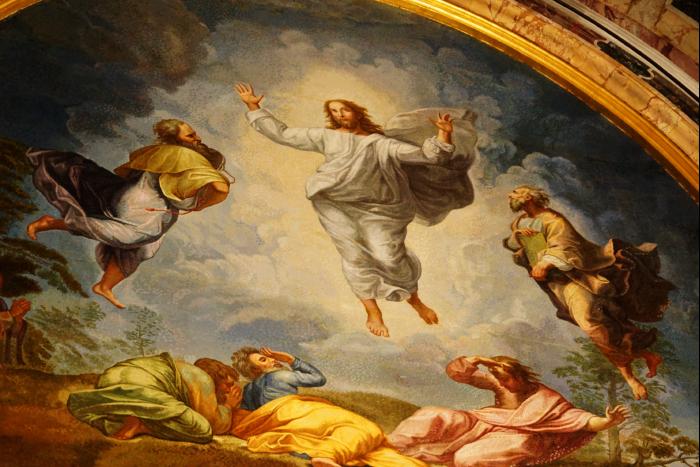 サンピエトロ大聖堂 内部 聖者 遺骸 壁画 201603