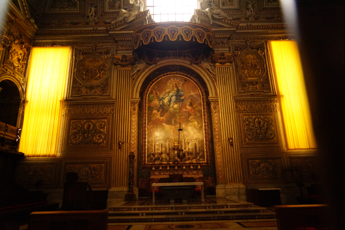 サンピエトロ大聖堂 内部 聖者遺骸 201603
