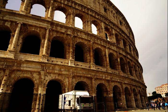 ローマ コロッセオ    201603