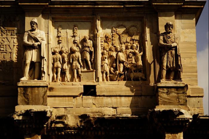 ローマ コロッセオ 凱旋門  201603