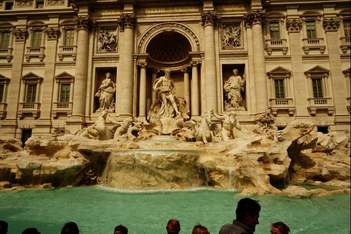 ローマ トレヴィの泉  201603