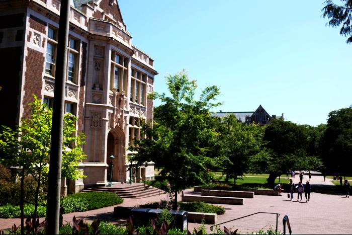 シアトル ワシントン大学 キャンパス 3 201608