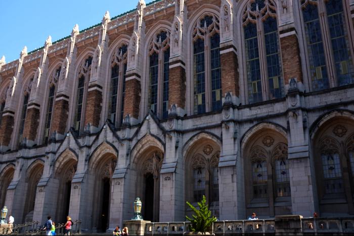 シアトル ワシントン大学 図書館 201608