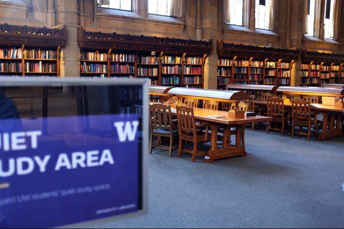 シアトル ワシントン大学 図書館内部 2 201608