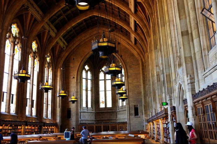 シアトル ワシントン大学 図書館内部 201608