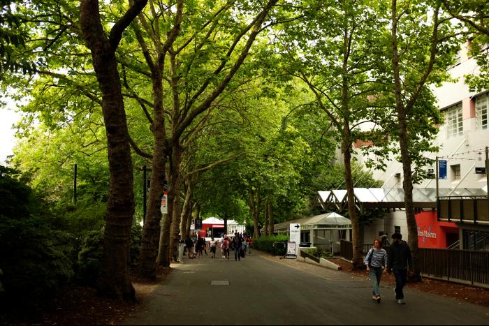 シアトル スペースニードル 3 公園 201608