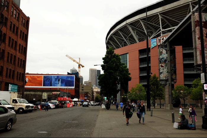 シアトル センチュリーリンクフィールド NFLシアトルシーホークス MLSシアトルサウンダーズFC 201608