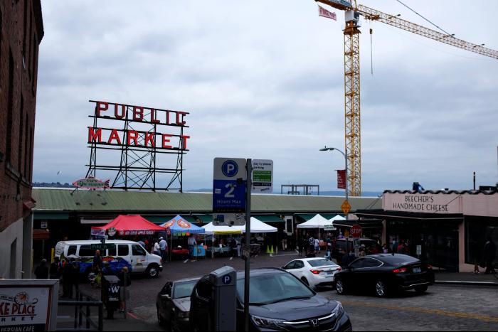 シアトル ダウンタウン パブリックマーケット 201608
