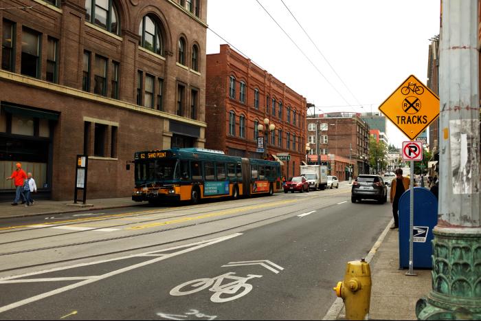 シアトル ダウンタウン 旧市街 201608