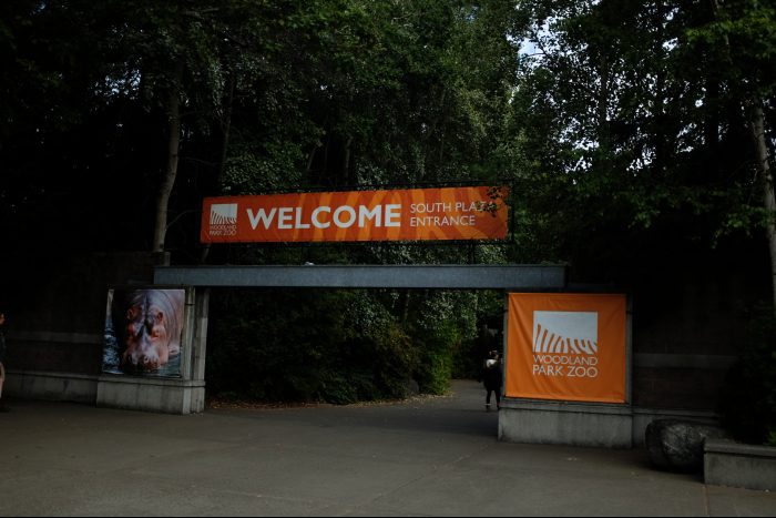 シアトル ウッドランドパーク動物園 入口 201608