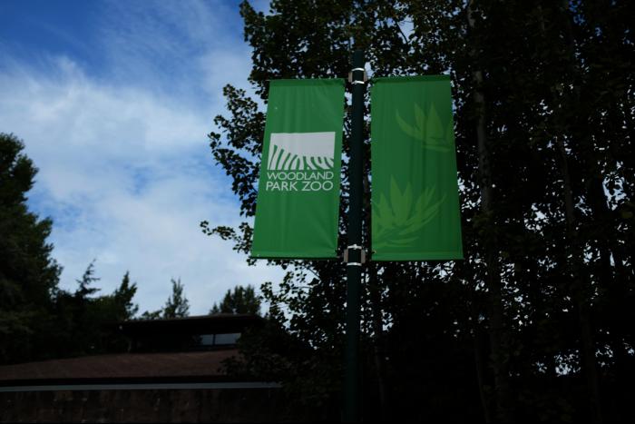 シアトル ウッドランドパーク動物園 入口付近 201608