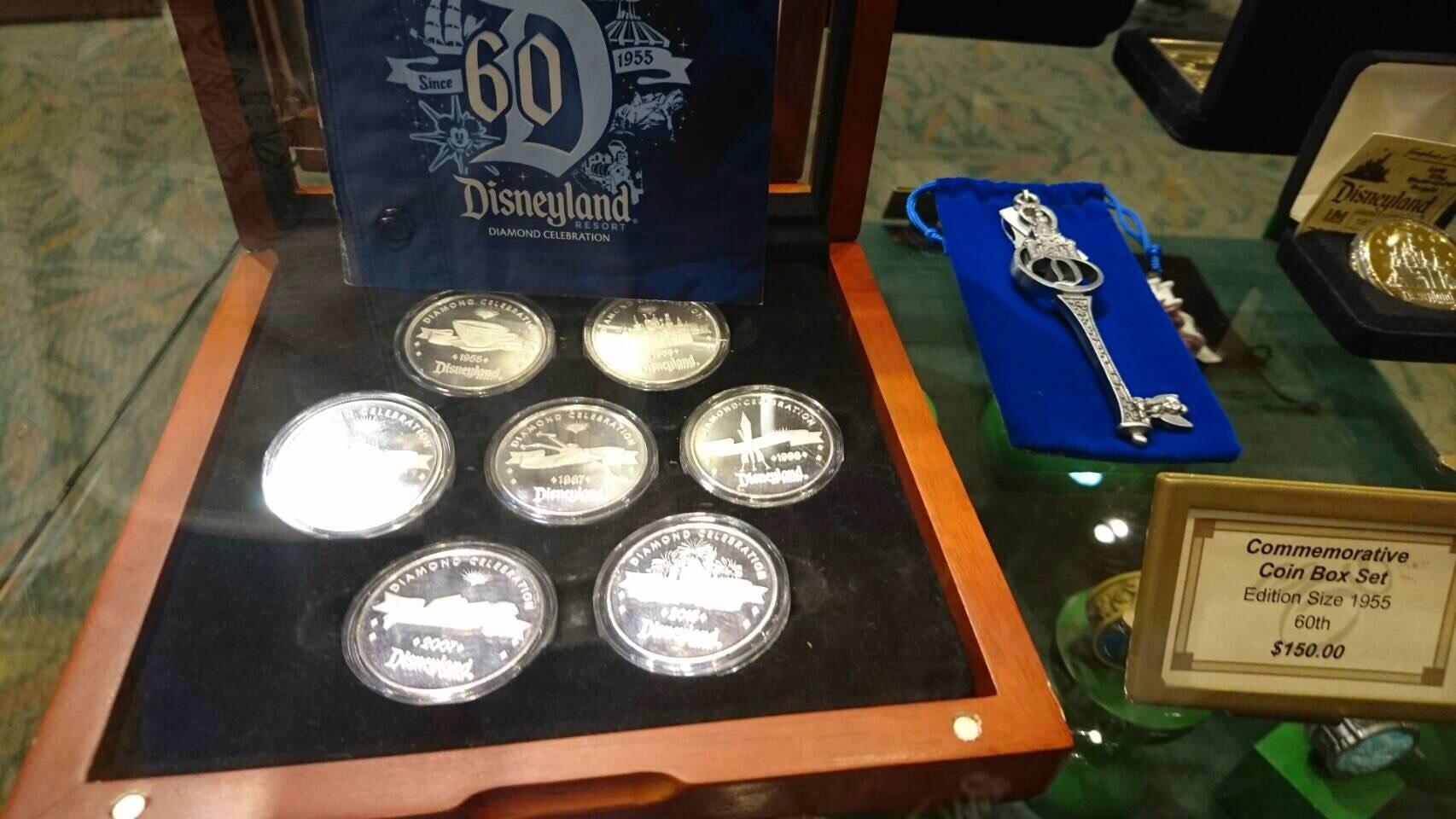 Disneyland ワールドオブディズニー ディズニーギャラリー 60周年コイン 201609