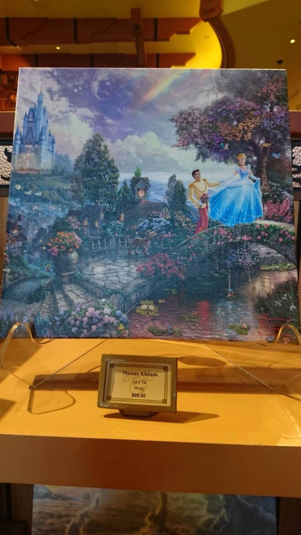 Disneyland ワールドオブディズニー ディズニーギャラリー キンケード 201609