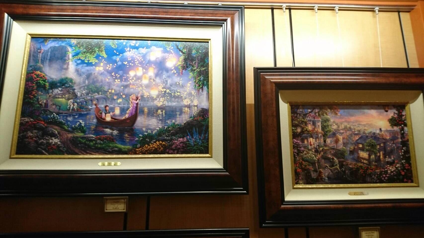 Disneyland ワールドオブディズニー ディズニーギャラリー 絵画 6 201609