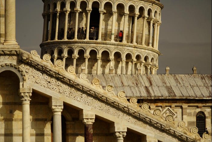 ピサの斜塔 大鐘楼 201603