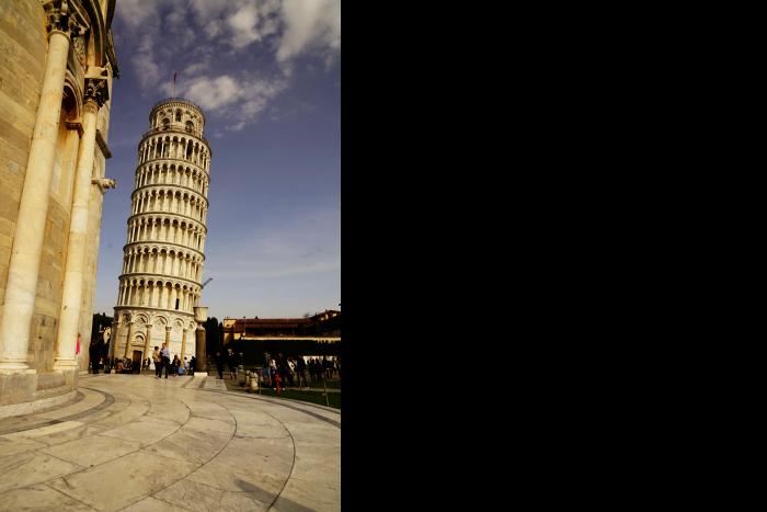ピサの斜塔 大鐘楼 3 201603