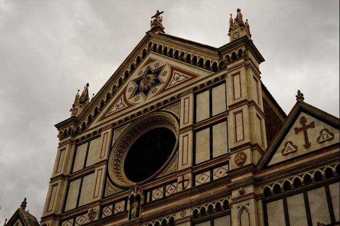 サンタ・クローチェ聖堂(Basilica di Santa Croce)  ガリレオ 2 201603