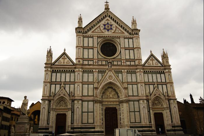 サンタ・クローチェ聖堂(Basilica di Santa Croce)  ガリレオ 7 201603