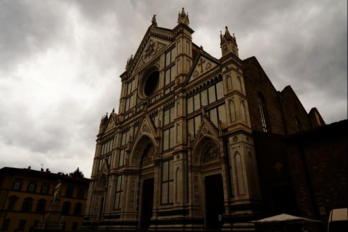 サンタ・クローチェ聖堂(Basilica di Santa Croce)  ガリレオ 201603