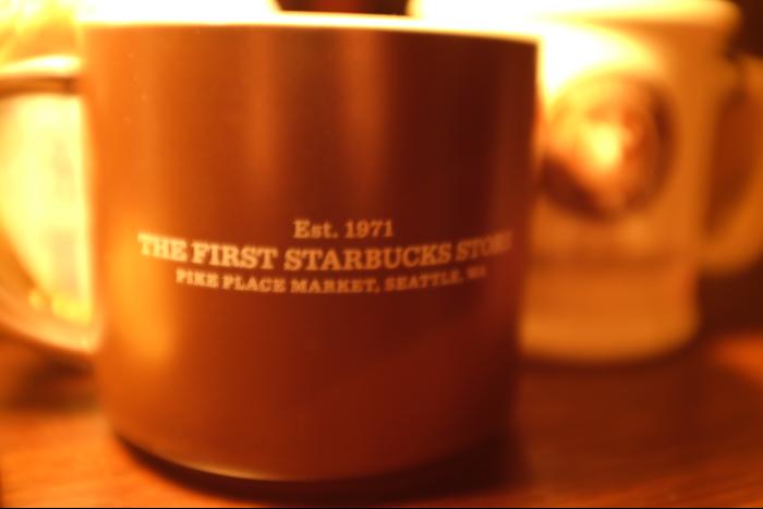 スターバックスコーヒー 1号店 マグカップ 茶色 1
