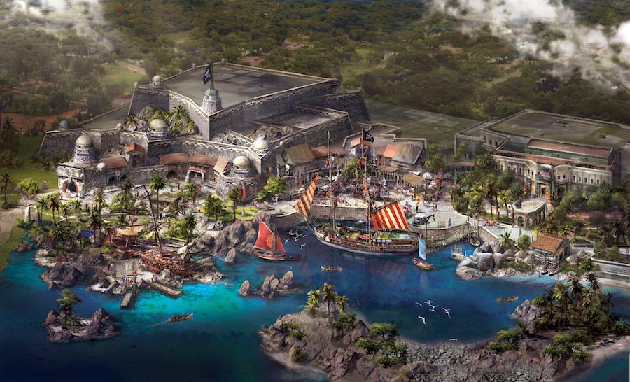 上海ディズニーランド 海賊テーマエリア