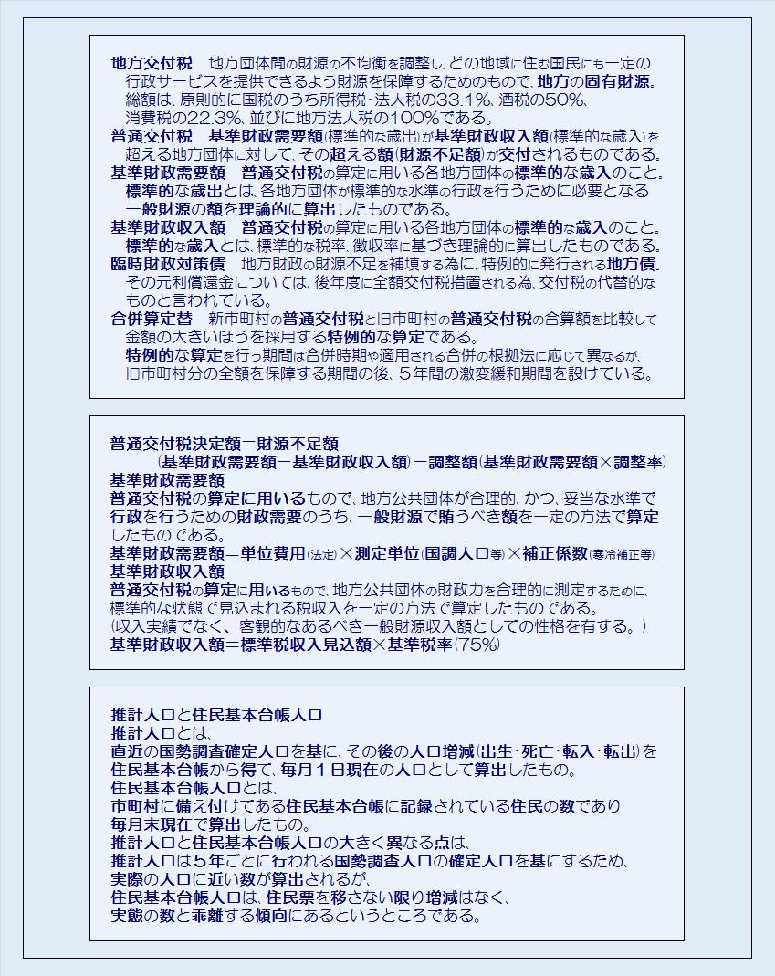 埼玉県40市平成28年度地方特例交付金の交付決定額・コメント3