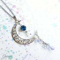 月の女神の首飾り_シルバー_2