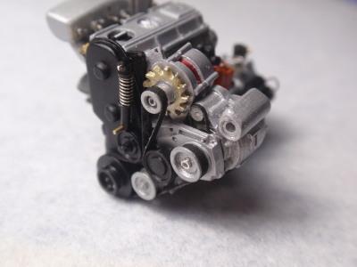 エンジン組み立て