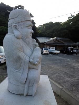 160722-2=七福神登場 aONA温泉駐車場