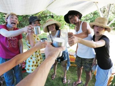 160809-075=ジンギスカンパーティ乾杯