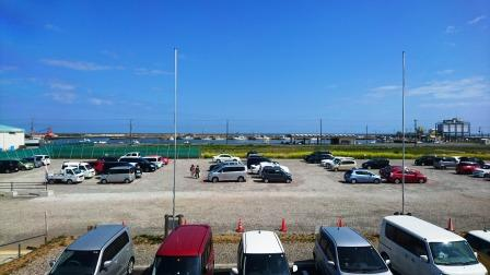 九十九里海の駅からの眺望