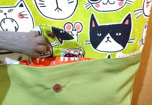 舞猫バッグポッケ
