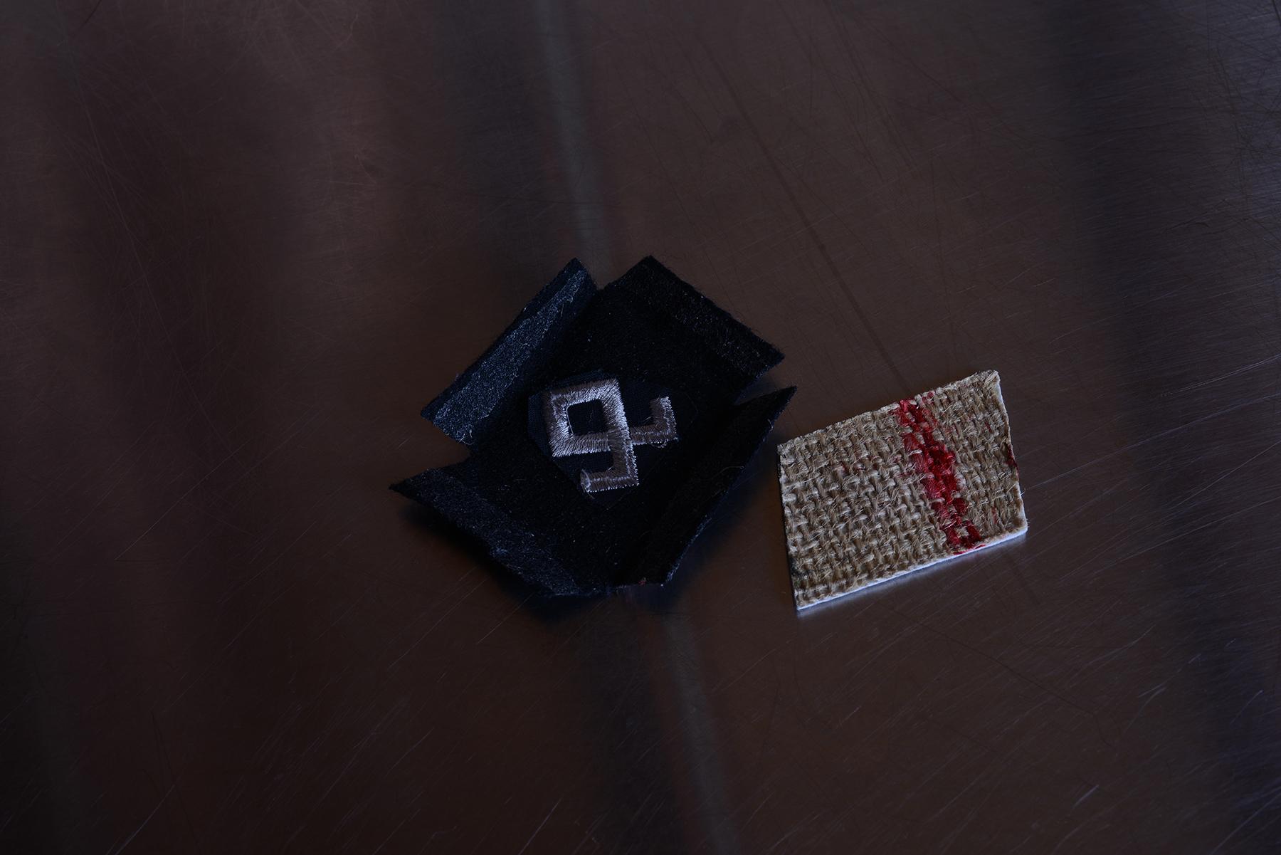 SS襟章/機械刺繡品