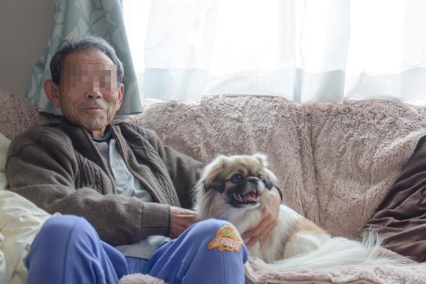②じいちゃんと一緒