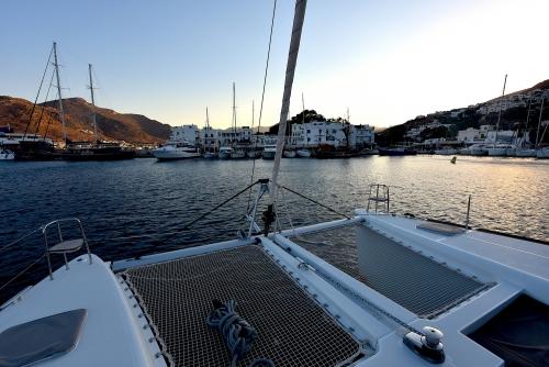 Ios Harbour sunrise