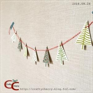 Crafty Cherry * tree garland 2