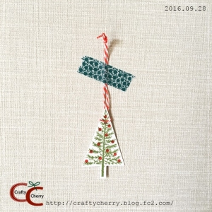 Crafty Cherry * tree tag