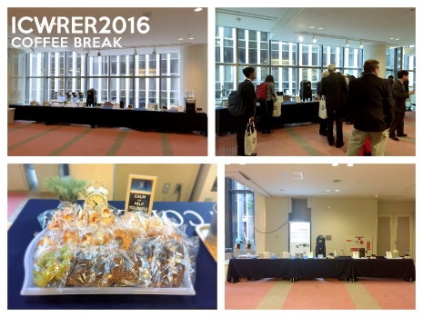 ICWRER2016_coffee break
