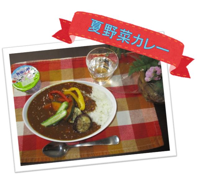 夏野菜カレー2