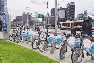 富山駅前2016夏
